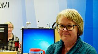 Kirsti Lattunen Olga Ketosen haastattelussa.