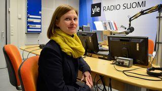 Vanhempainliiton toiminnanjohtaja Ulla Siimes Kaikki kotona -lähetyksen vieraana 20.1.2015
