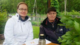 Kaikki kotona vieraili Helsingissä Pasilan palstaviljelmillä. Oppaina Jaana Rytkönen ja Pasi Pitkänen.