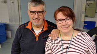 Kirjailija, toimittaja Hannes Markkula Paula Jokimiehen Kesäteltta -ohjelman vieraana