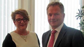 Kansanradion 35-vuotisjuhlalähetyksessä vieraana tasavallan presidentti Sauli Niinistö