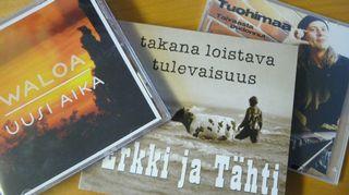 Waloa, Erkki ja Tähti sekä Tuohimaa levynkannet