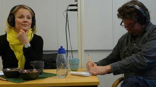 Heidi Pakarinen ja Tero Liete musiikin lumoissa
