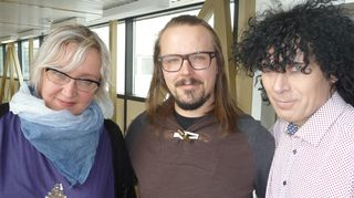 Olga K, Jukka-Poika ja Jorma Hietamäki