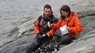 Luonto-Suomen vedenalaisilta - Minna Pyykkö haastattelee
