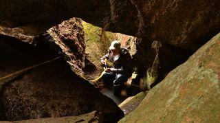 Korkbergetin luolasto, Kirkkonummi