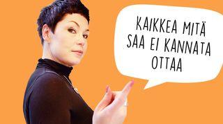 Maria Jyrkäs pakinoi: Suhteellisia rajoja
