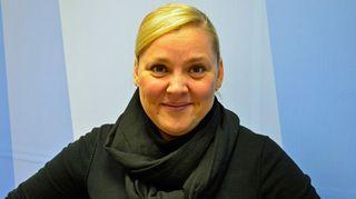 Viestintätoimiston johtaja Taru Tujunen Taustapeilin haastattelussa 18.11.2014.