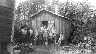 Suomalaisten sauna Australiassa. Wolvi, Via Gympie.