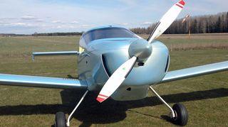Jarmo Hakalan lentokone.