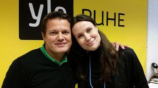 Sami Kapanen ja Minna Marsh