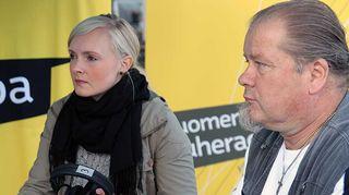 Maria Ohisalo ja Heikki Hursti