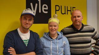 Tommy Lindgren, Noora Räty ja Petteri Sihvonen