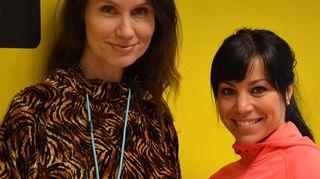 Minna Marsh ja Sonia Grönroos