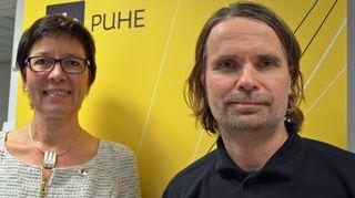 Tuija Pulkkinen ja Vesa Heilala.