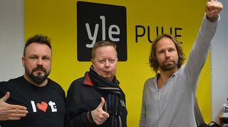 Riku Rantala, Ville Oksanen ja Tunna Milonoff