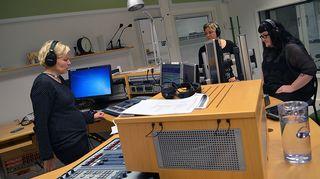 Noroen ja Kivelä studiossa