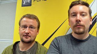 Otto Sjöholm ja Perttu Häkkinen.