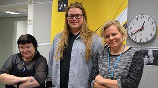 Minna Kivelä, Juuso Kekkonen ja Paula Noronen