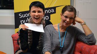 Katariina Souri ja Olga Temonen