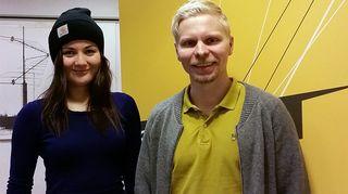 Emilia Kukkala ja Tero Toivanen