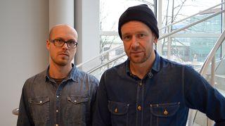 Joni Luomanen ja Heikki Häkkinen.