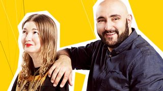 Polina Kopylova ja Ali Jahangiri