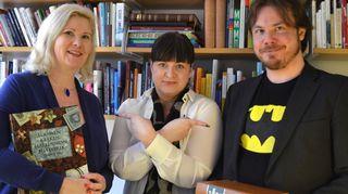 Kirsi Lonka, Marjaana Toiminen ja Lauri Järvilehto