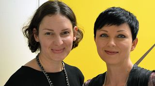 Anu Harkki ja Katariina Souri