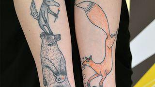 Anu Harkin tatuionnit