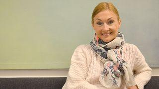 Kuvassa kokki Teresa Välimäki.