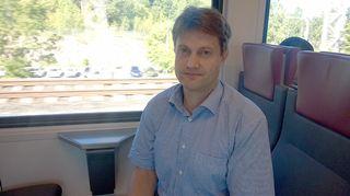 Kuvassa: liikenne palveluna -ajattelun kehittäjä Sampo Hietanen.