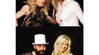Harkinnassa oli myös se Britneyn ja Madonnan pusukuva. Susanna Laine kylässä.