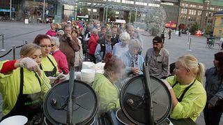 Saa syödä tapahtuma Helsingissä 2014