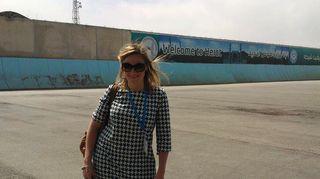 Kuvassa Anna Palmén Heratissa.