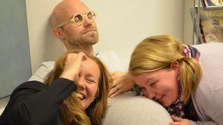 Marja HIntikka, Jenny Lehtinen ja Heikki Soini.
