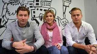 Lari Halme, Irina Vartia ja Petteri Paavola