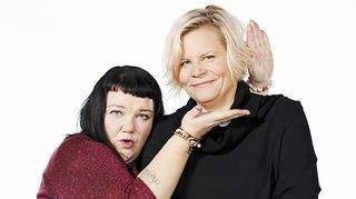 Minna Kivelä ja Paula Noronen