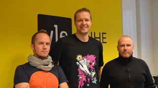 Tommy Lindgren, Hanno Möttölä ja Petteri Sihvonen