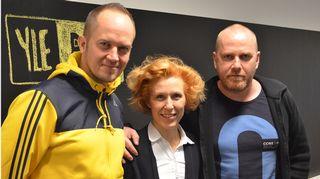 Tommy Lindgren, Susanna Rahkamo ja Petteri Sihvonen