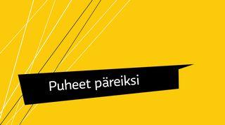 Vesa Heikkinen ja Tapio Pajunen puivat politiikan kielen ajankohtaisuuksia.