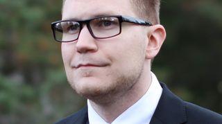 Perussuomalaisten kansanedustaja Olli Immonen
