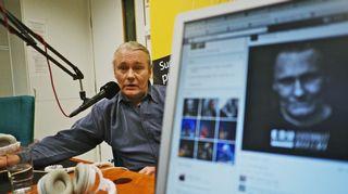 Kuvassa lauluntekijä, laulaja Edu Kettunen