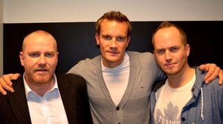 Petteri Sihvonen, Tuomas Sammelvuo ja Tommy Lindgren