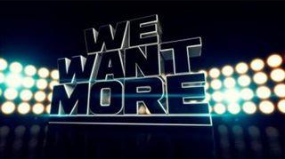 Kuvassa We Want More -ohjelman logo