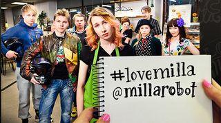 Ylen pressikuva ohjelmasta #lovemilla.