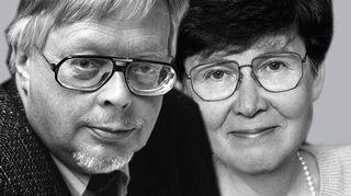 Pentti Fagerholm ja Maija-Kaarina Saloranta