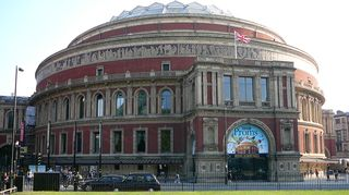 Royal Albert Hall Lontoossa. Kuva: Jari Rantschukoff/YLE.