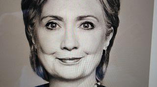 Hellary Clinton. Kirjan kansi