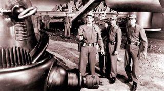 Kuva elokuvasta Kielletty planeetta vuodelta 1956.